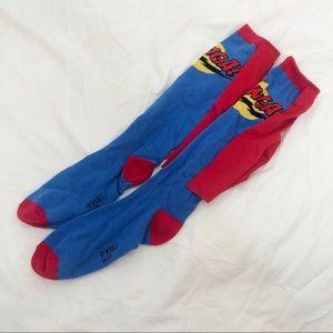 Bazinga Knee Length Socks with Cape